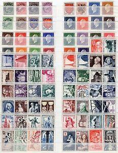 Francia-Lotto-di-80-francobolli-Nuovi-MNH