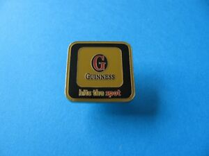 Enamel. VGC Guinness Rugby Shirt Pin Badge Unused
