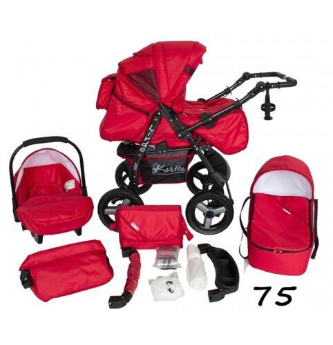 Baby Pram 3in1 Stroller Pushchair Car Seat Carrycot Travel System Buggy FREEBIES