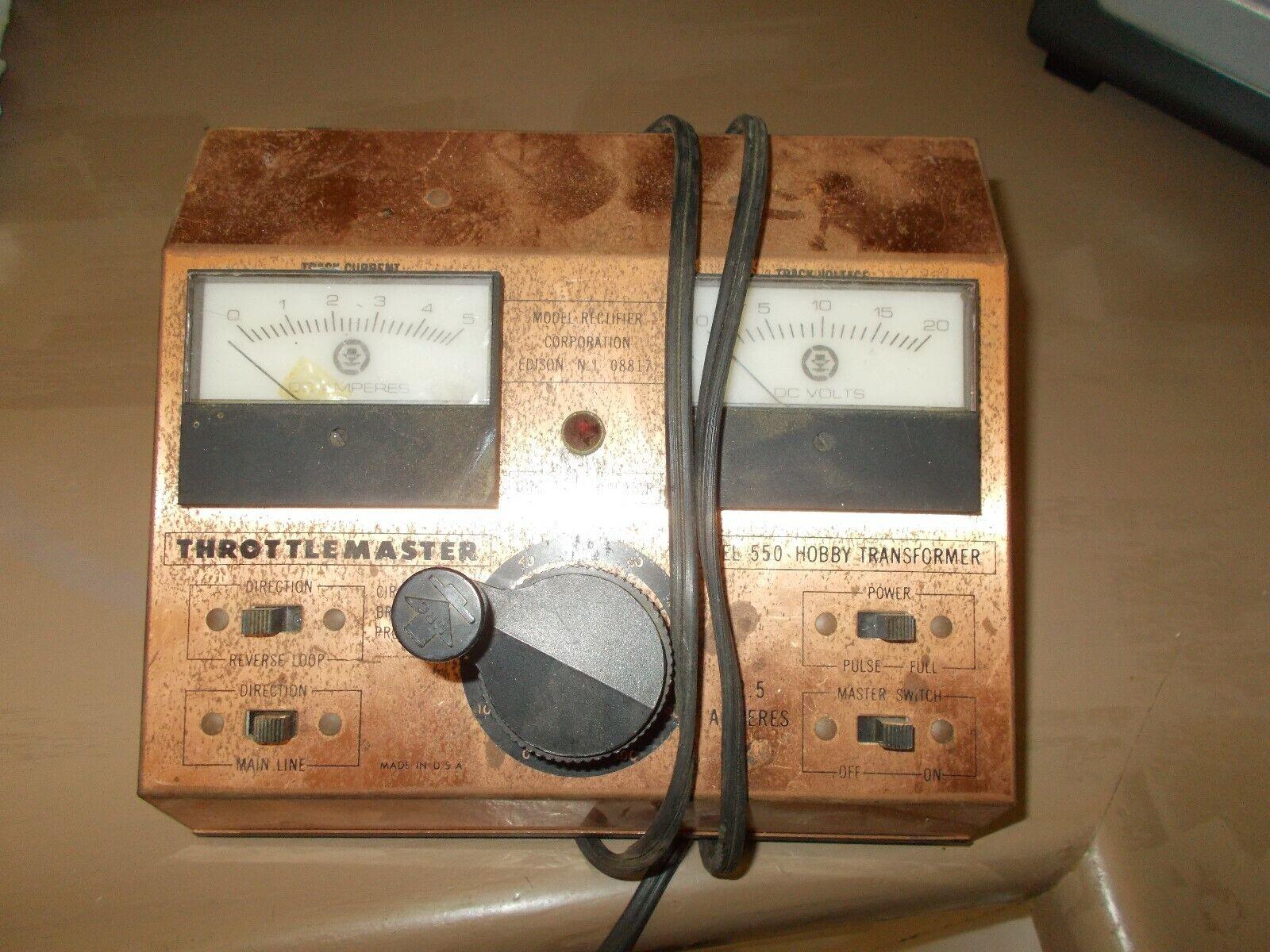 Transformador throjotlemaster Modelo 550 Hobby
