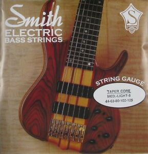 ken smith tcrml 5 taper core steel bass strings medium light gauge 5 39 s 44 125 ebay. Black Bedroom Furniture Sets. Home Design Ideas