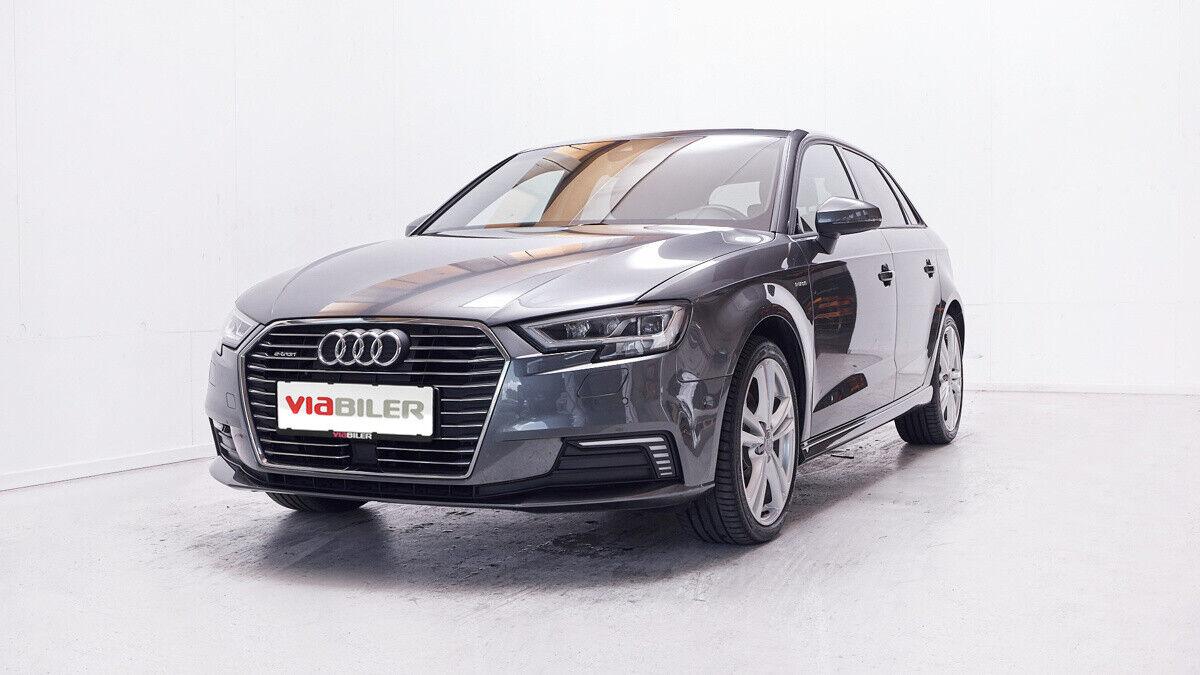 Audi A3 1,4 e-tron S-line Sportback S-tr. 5d - 259.900 kr.