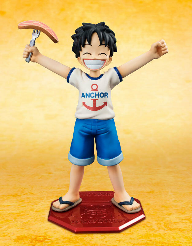 ONE PIECE Portrait Of Pirates POP CB-R1 Monkey D. Luffy 1/8 MegaHouse NEW