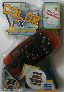 Missile-Command-Color-FX-Handheld-LCD-Game-MGA-2006-New-in-package