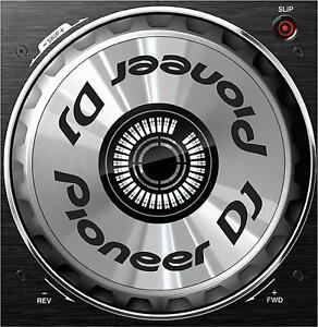 Details about PIONEER DDJ SB / SB2 / SB3 JOG DIAL SLIPMAT GRAPHICS / SERATO  DJ CDJ DJM XDJ
