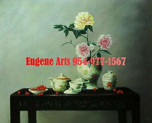"100/% hand painted oil flat 8x10/"" Flower 20x26cm 50/% OFF Still Life Florist"