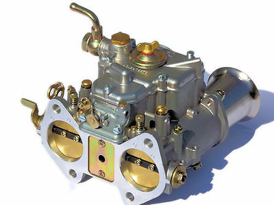 NEW 45DCOE carburetor oem with air horns- replacement for Weber Solex Dellorto