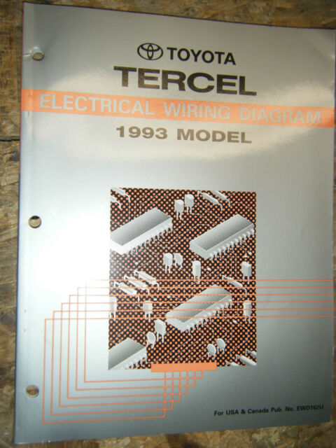 1993 Toyota Tercel Electrical Wiring Diagram Factory
