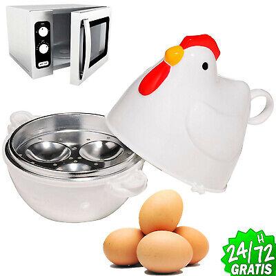 3 Eggs Microwave Egg Cooker