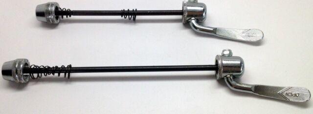Bicycle Chrome Steel Quick Release Lever Skewer Bike Rear Wheel 165mm #1045