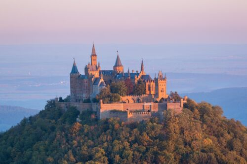 CASTLE HOHENZOLLERN GERMANY LANDSCAPE POSTER STYLE B 24x36 HI RES 9 MIL PAPER