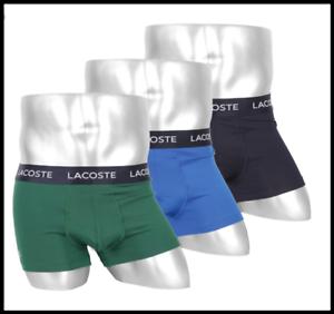 3er Pack Trunks Colours Lacoste Boxershorts blue navy