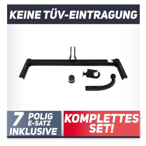 Volkswagen Polo III 6N2 3//5-Tür Fließheck 99-01 Anhängerkupplung starr+ESatz 7p