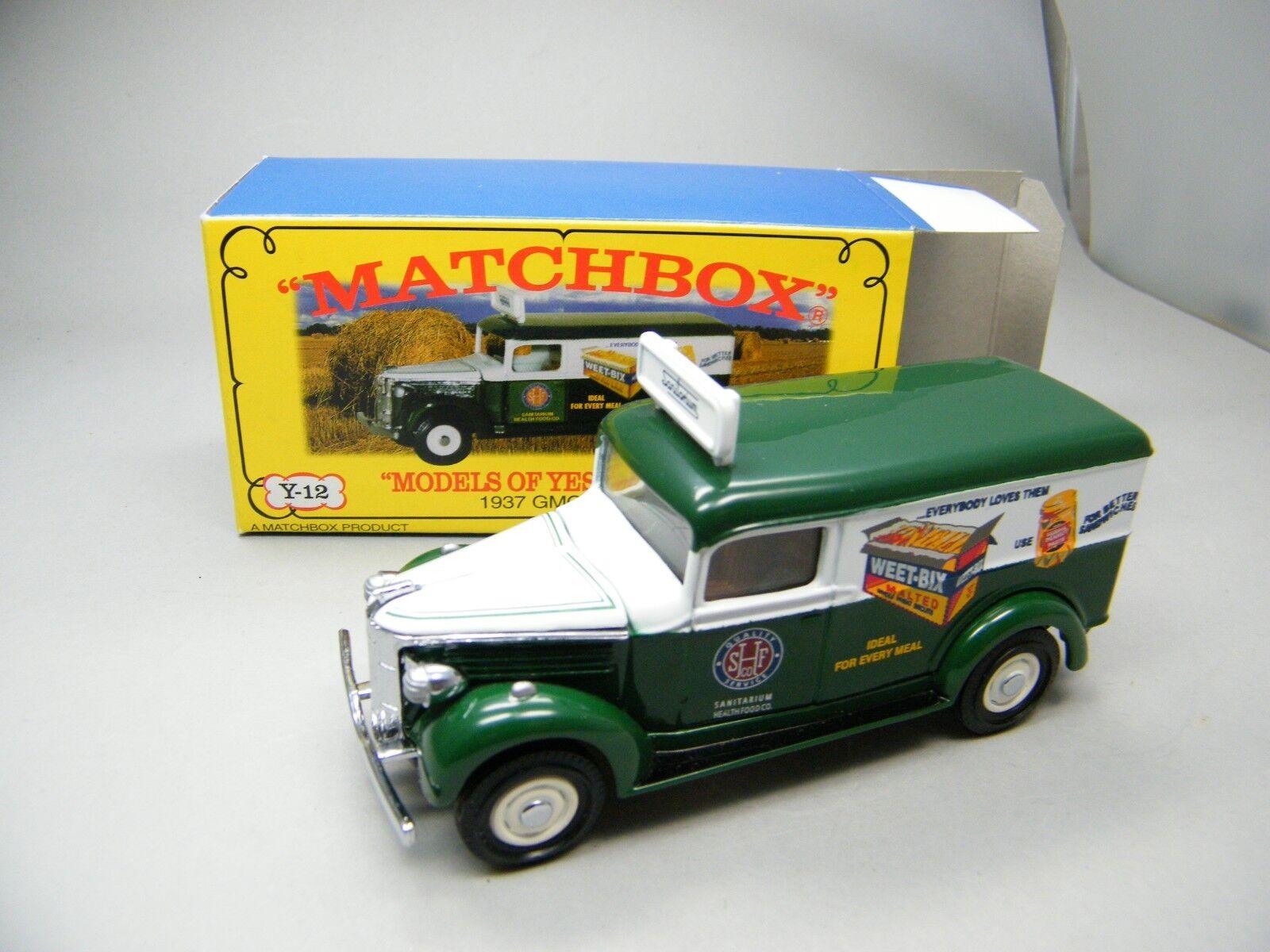 Matchbox MOY c2 y12 GMC Australian Special Model Marmite Boxed Pictures k04