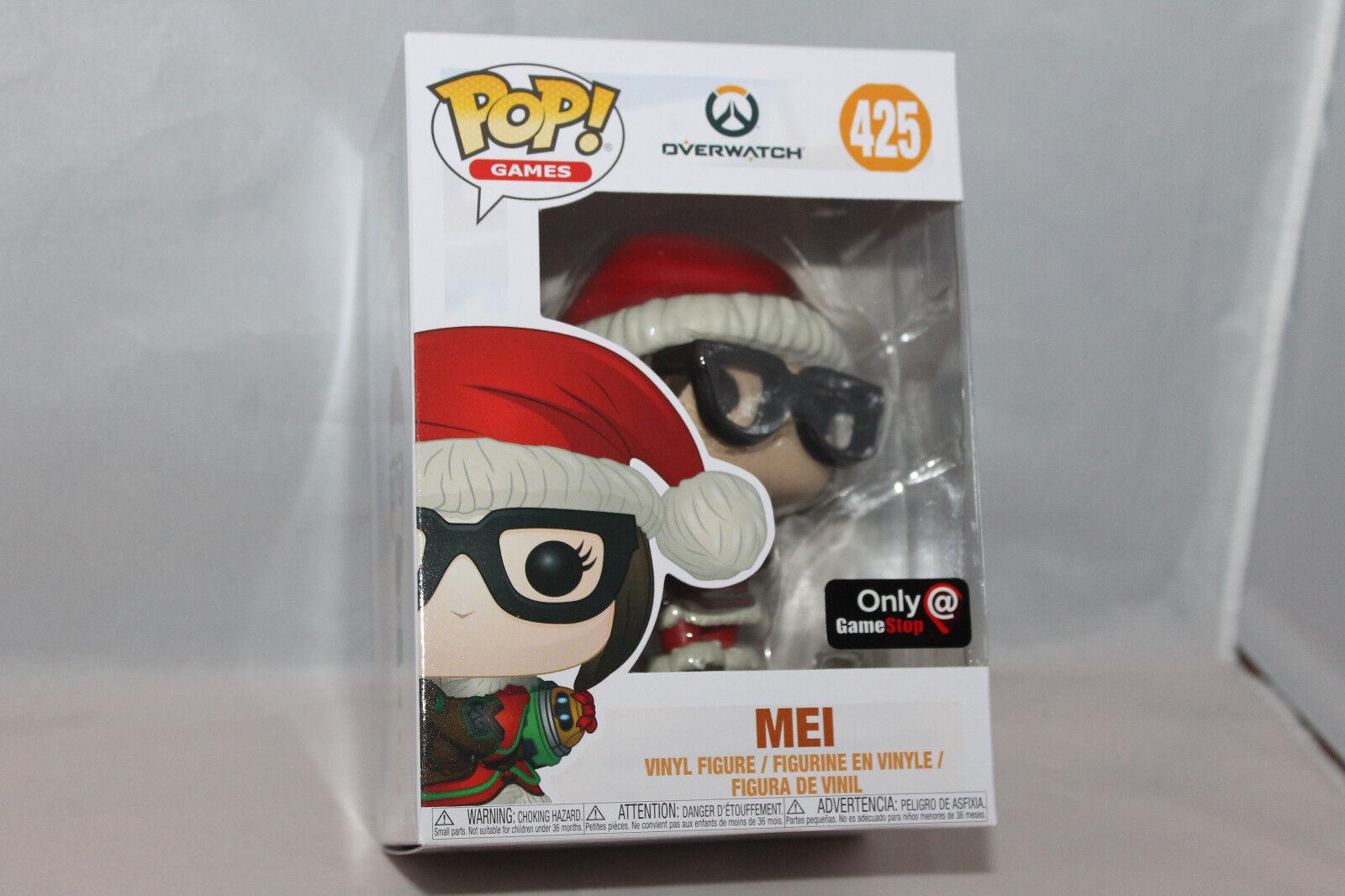 Funko Pop  Vinyl Figure - Games Mei [Santa] - GameStop Exclusive