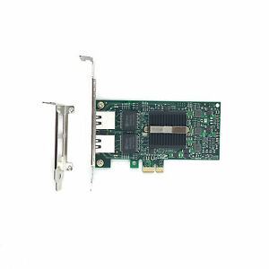 Dual-Port-PCI-EX1-Intel-82575EB-E1G42ET-EF-E1G44ET-Gigabit-Server-Adapter