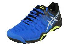 Náutico Insignia de ahora en adelante  ASICS GEL Resolution 7 Men Tennis Shoes Black/grey/green E701y-9095 Socks 9  for sale online   eBay