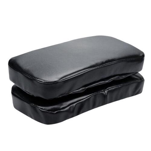 Set mit 2 PU Memory Foam Bürostuhl Armlehnenpolster Ellbogen Kissen