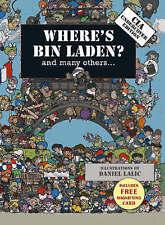 Where's Bin Laden: CIA Undercover Edition by Daniel Lalic, Xavier Waterkeyn (Har