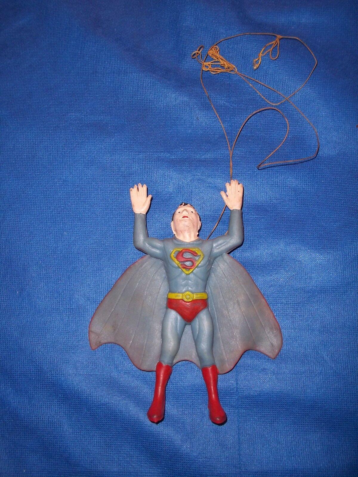 Vintage 1973 Ben Cooper Rubber Dangling  Superman  7  Action Figure