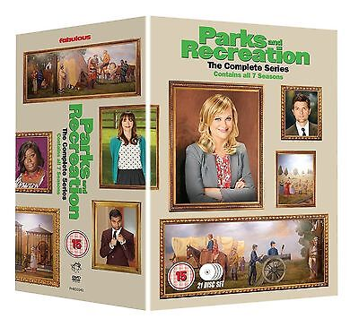 PARKS AND RECREATION SEASONS 1-7 COMPLETE DVD BOX SET NEW SERIES 1 2 3 4 5 6 7