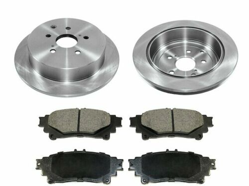 Rear Pronto Brake Pad and Rotor Kit fits Toyota Sienna 2011-2020 42ZCQN