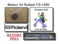 Battery for Roland VS-1680 Digital Workstation - Internal Memory Backup Battery