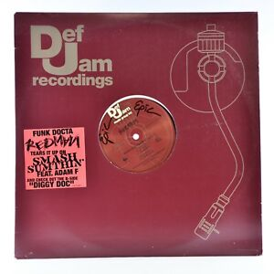 Image is loading Def-Jam-Funk-Docta-Redman-Promo-LP-Vinyl-