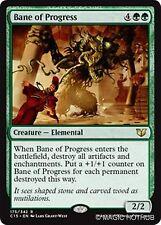 BANE OF PROGRESS Commander 2015 MTG Green Creature — Elemental Rare
