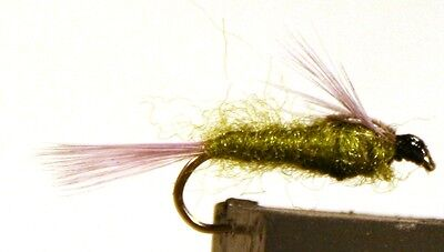 4-pack ICE FLIES Nymph Available in size 10-14 Jokla grubber .