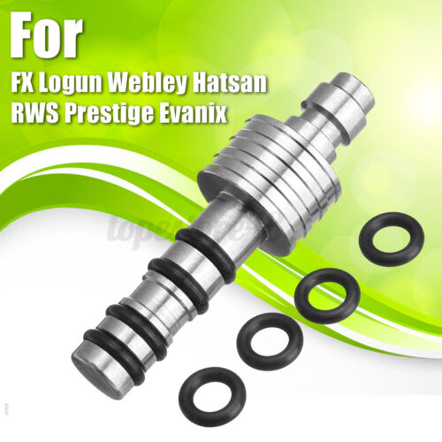 Silver PCP Charging Filling Probe For FX Logun Webley Hatsan RWS Prestige