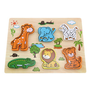 Kids-Puzzle-Early-Education-Wooden-Hand-Grasping-Board-Toy-Developmental-B