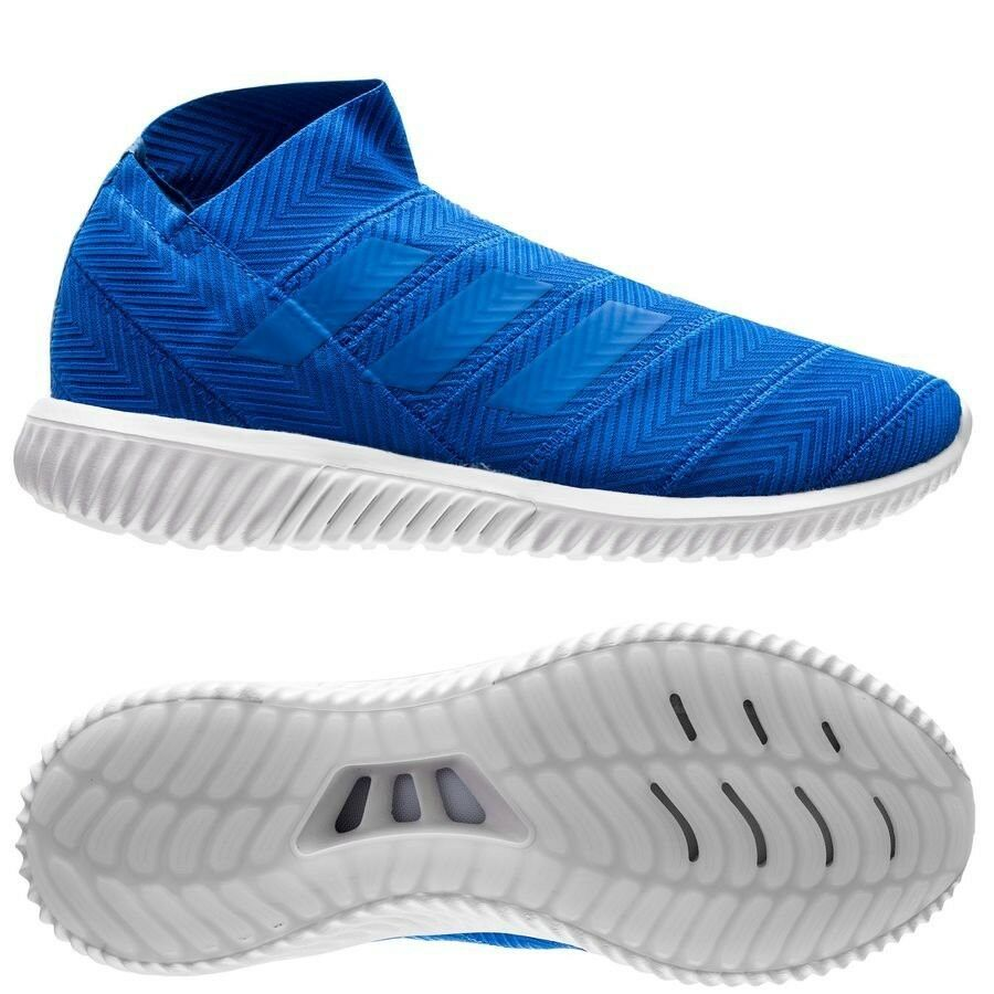 Adidas Nemeziz Tango 18.1 Trainers Soccer Street Mens US 10.5 BNIB blu Laceless