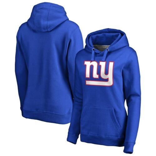 New New York Giants Women/'s NFL Iconic Primary Colour Logo Graphic Hoodie