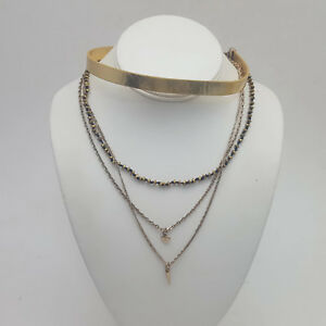 Tova-Strap-Choker-With-Chains-Necklace