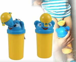 New Baby Portable Urinal Travel Car Toilet Kids Vehicular Potty Yellow For Boy /'