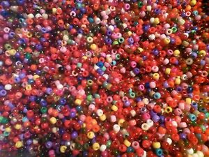 125g-Approx-500-Mix-Beads-Sweepings