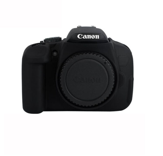 protective armor soft silicone skin case cover for canon 700d dslr