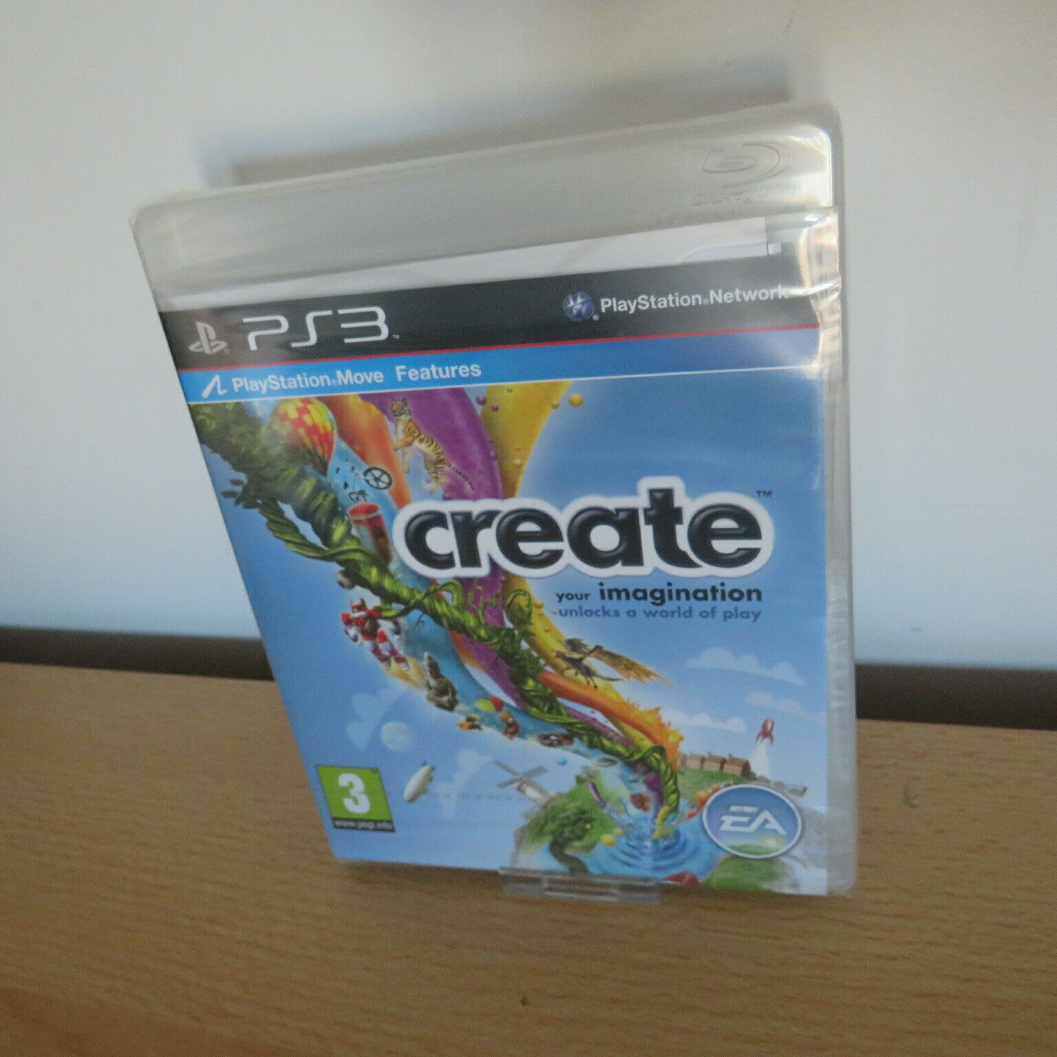 Create PS3 Move new sealed pal version