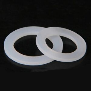 10PCS-DN8-10-15-20-25-32-40-Silicone-Gasket-Flat-Sealing-Washer-Spacer-Fitting