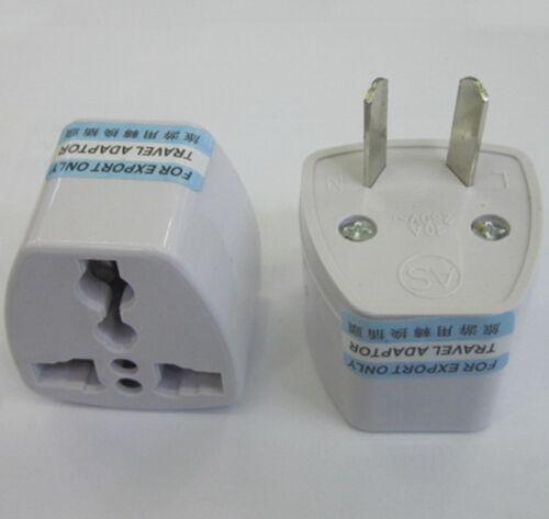 Comme//AU//US//EU//comme universel pour UK//HK AC Power Plug Adaptateur Voyage Convertisseur 3pin
