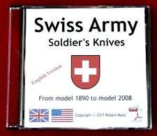SWISS ARMY KNIFE - SWISS ARMY SOLDIER'S KNIVES - BOOK ON CD - ENGLISH VERSION