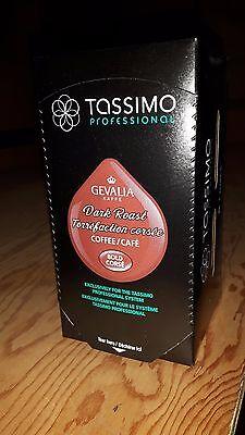 Tassimo Professional Gevalia Dark Roast Coffee 80 T-discs (5 X 16)