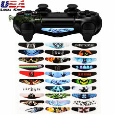 30 PCS Decoration Led Light Bar Stickers Cover Decal for PS4 Slim Pro Controller