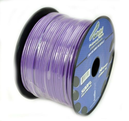 2 Rolls 14 Gauge 500 Feet Audiopipe Car Audio Home Primary Remote Wire LED