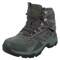 Ladies Hi Tec Altitude Sport I Wp Leather Waterproof Walking Hiking Boots Shoes