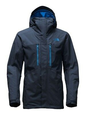 NEW The North Face Men's Clement Triclimate Jacket- M navy $279
