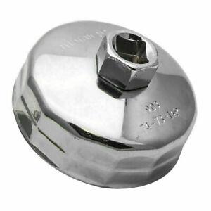 Filtre-a-Huile-Cle-Capuchon-Logement-Outil-Remover-74mm-pour-Mercedes-VW-Audi
