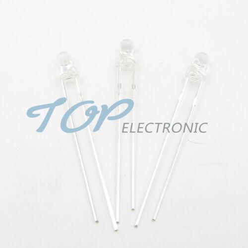 100pcs PD204-6C  PHOTODIODE PIN IR 3MM 940NM HI SPEED LED Water clear