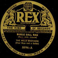 MILLS BROTHERS  Bugle Call Rag / How'm I doin' hey, hey  Schellackplatte   S7867